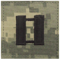 Vanguard ARMY EMBROIDERED ACU RANK INSIGNIA: CAPTAIN