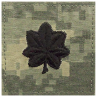 Vanguard ARMY EMBROIDERED ACU RANK INSIGNIA: LIEUTENANT COLONEL