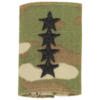 Vanguard ARMY GORTEX RANK: GENERAL (4-STAR) - OCP JACKET TAB
