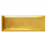 Vanguard ARMY CAP RANK: SECOND LIEUTENANT - LARGE, 22K GOLD PLATED