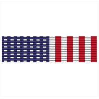 Vanguard RIBBON UNIT #2900: STARS AND STRIPES RIBBON UNMOUNTED.