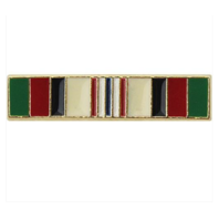 "Vanguard Afghanistan Campaign Medal Lapel Pin (approx 5/8"" x 1/8"")"