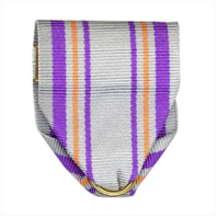 Vanguard ARMY ROTC RIBBON DRAPE N-4-4: AJROTC GUIDON BEARER PIN AND SAFETY CATCH