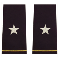 Vanguard ARMY EPAULET: BRIGADIER GENERAL - LARGE