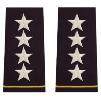 Vanguard ARMY EPAULET: 4 STAR GENERAL
