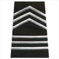 Vanguard ARMY ROTC EPAULET: MASTER SERGEANT - SMALL