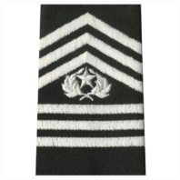 Vanguard ARMY ROTC EPAULET: COMMAND SERGEANT MAJOR - SMALL