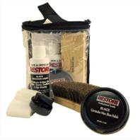 Vanguard SHOE SHINE KIT: RESTORE BLACK BOOT CLEANER
