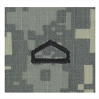 Vanguard ARMY ROTC ACU RANK W/HOOK CLOSURE : PRIVATE FIRST CLASS (PFC)