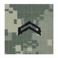 Vanguard ARMY ROTC ACU RANK W/HOOK CLOSURE : CORPORAL (CPL)