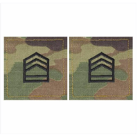 Vanguard ARMY ROTC OCP RANK W/HOOK CLOSURE : SERGEANT FIRST CLASS (SFC)