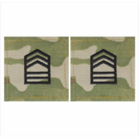 Vanguard ARMY ROTC OCP RANK W/HOOK CLOSURE : MASTER SERGEANT (MSTRSGT)