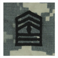 Vanguard ARMY ROTC ACU RANK W/HOOK CLOSURE : FIRST SERGEANT (1SG)