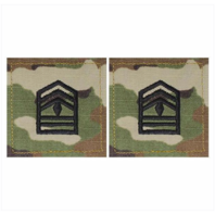 Vanguard ARMY ROTC OCP RANK W/HOOK CLOSURE : FIRST SERGEANT (1SGT)