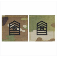 Vanguard ARMY ROTC OCP RANK W/HOOK CLOSURE : COMMAND SERGEANT MAJOR (CSM)