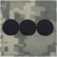 Vanguard ARMY ROTC ACU RANK W/HOOK CLOSURE : CAPTAIN (CPT)