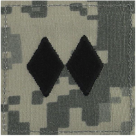 Vanguard ARMY ROTC ACU RANK W/HOOK CLOSURE: LIEUTENANT COLONEL (LTC)