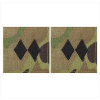 Vanguard ARMY ROTC OCP RANK W/HOOK CLOSURE : LIEUTENANT COLONEL (LTCOL)