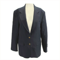 Vanguard FEMALE CUT SIMPLE NAVY BLUE BLAZER SIZE 12