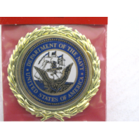 """Vanguard US Department Of Navy Emblem 2-1/2"""" For Shadow Boxes"""