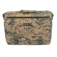 Vanguard MARINE CORPS FLAPOVER ATTACHE BAG: WOODLAND DIGITAL CAMOUFLAGE