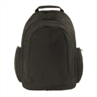 Vanguard BACKPACK: BLACK POLYESTER WITH HANG TAG
