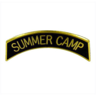 Vanguard ARMY ROTC ARC TAB: SUMMER CAMP - GOLD PLATED