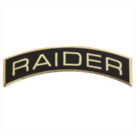Vanguard ROTC ARC TAB: RAIDER