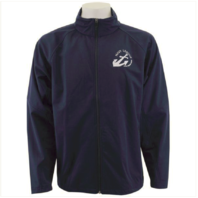 Vanguard NAVY LEAGUE NAVY BLUE SOFT SHELL JACKET WITH WHITE LOGO - MEDIUM