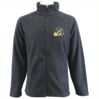 Vanguard NAVY LEAGUE FLEECE NAVY BLUE FLEECE JACKET W/GOLD NAVY LEAGUE LOGO - S