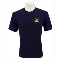 Vanguard NAVY LEAGUE T-SHIRT NAVY BLUE WITH GOLD NLCC LOGO - XL