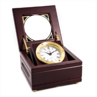 Vanguard EXECUTIVE GIMBALED BOX CLOCK