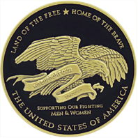 Vanguard THANK YOU TO TROOPS COIN