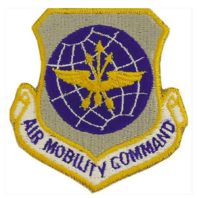 Vanguard AIR FORCE PATCH: AIR MOBILITY COMMAND - COLOR