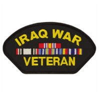 Vanguard VETERAN PATCH: IRAQ WAR