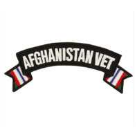 Vanguard VETERAN PATCH: AFGHANISTAN