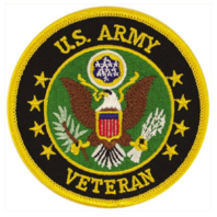 Vanguard VETERAN PATCH: US ARMY