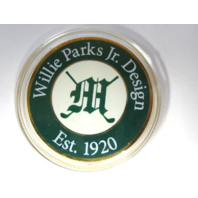 Challenge Coin Marion Country Club Willie Parks Jr. Design Est. 1920 Golf