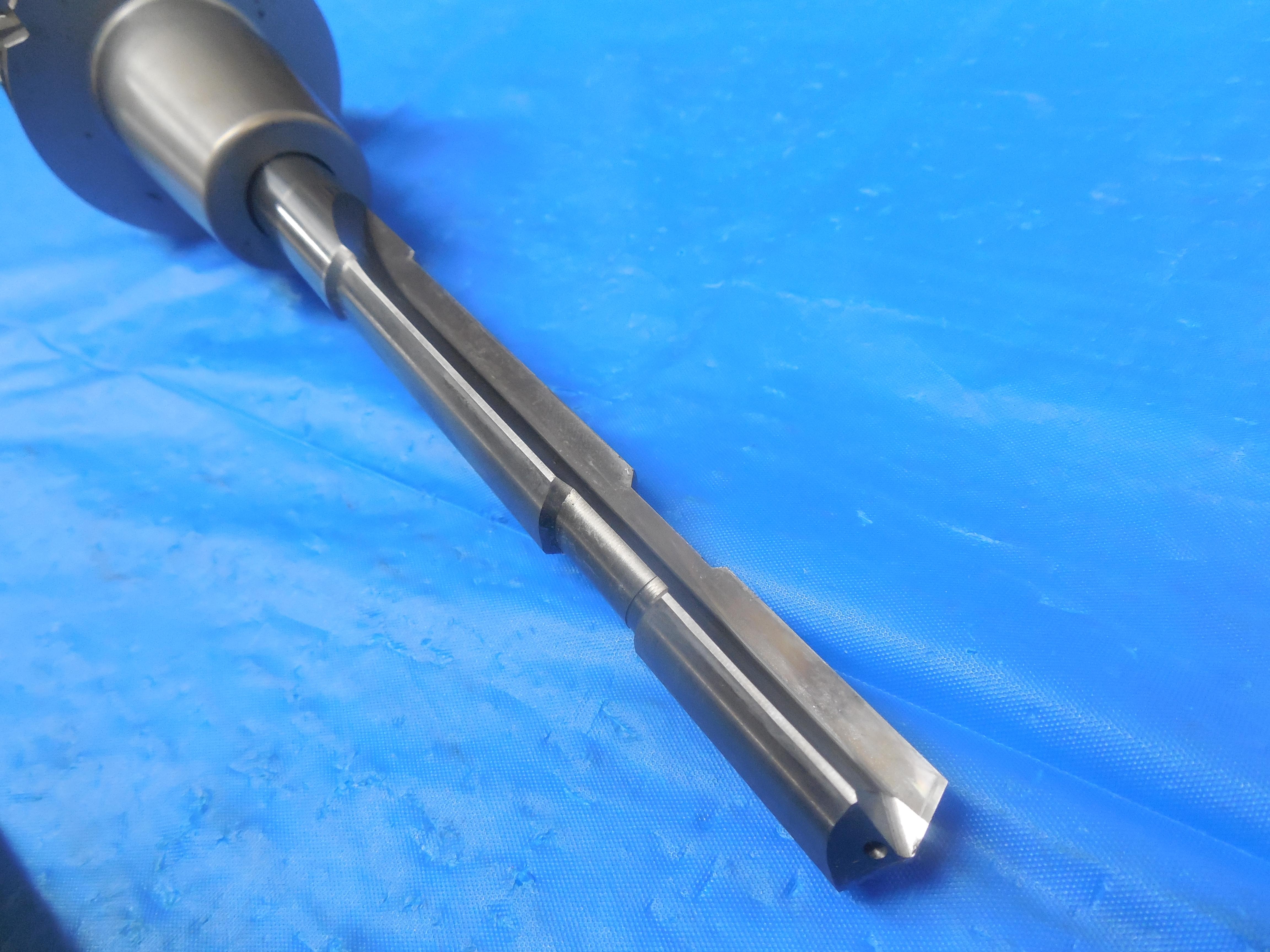 HSK63A 14 mm I.D Shrink FIT Tool Holder HSK63ATTGL14090M /& Carbide Step Drill