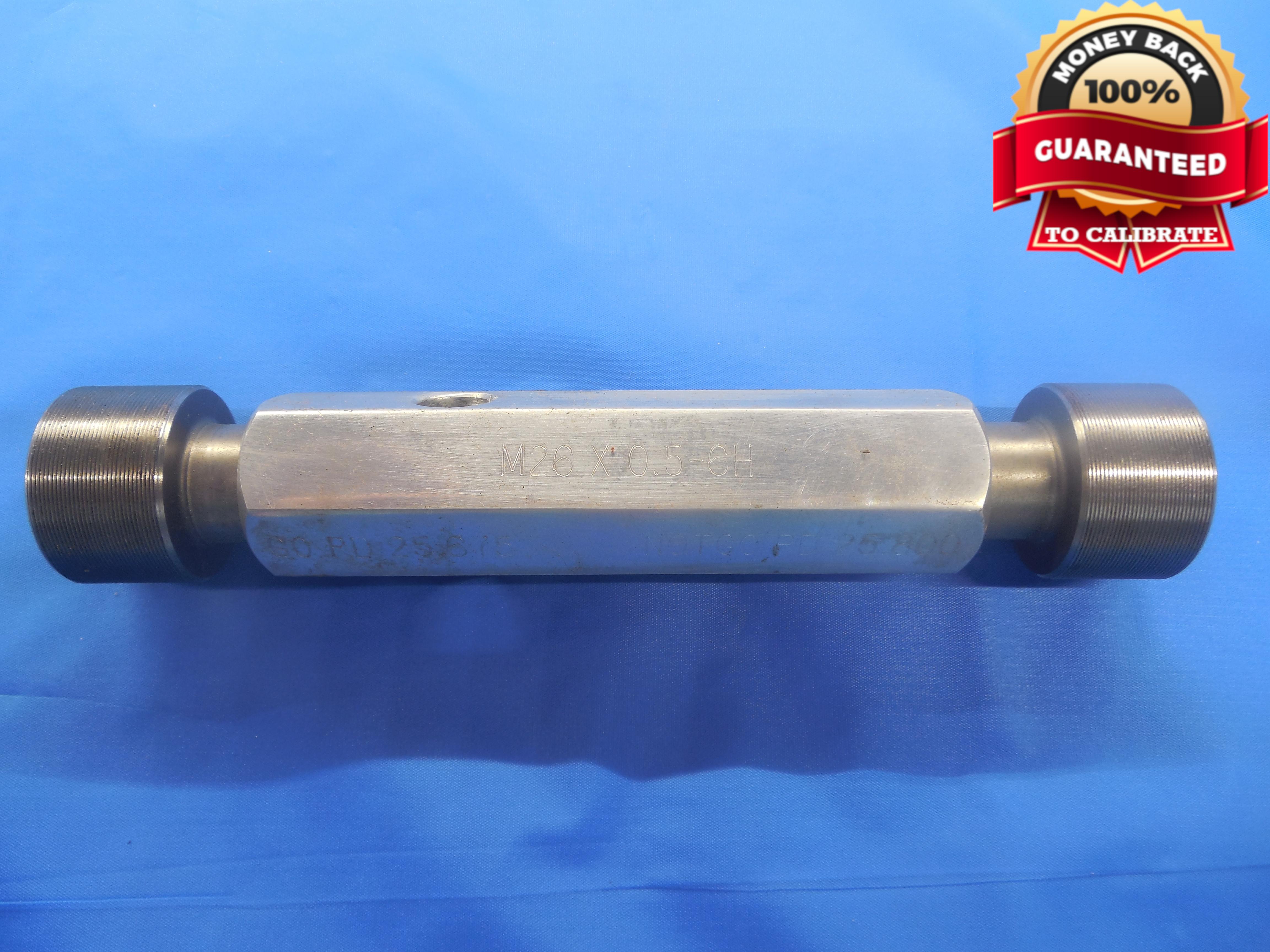 M35 x 1.5 Metric Right Hand Thread Ring Gage Set