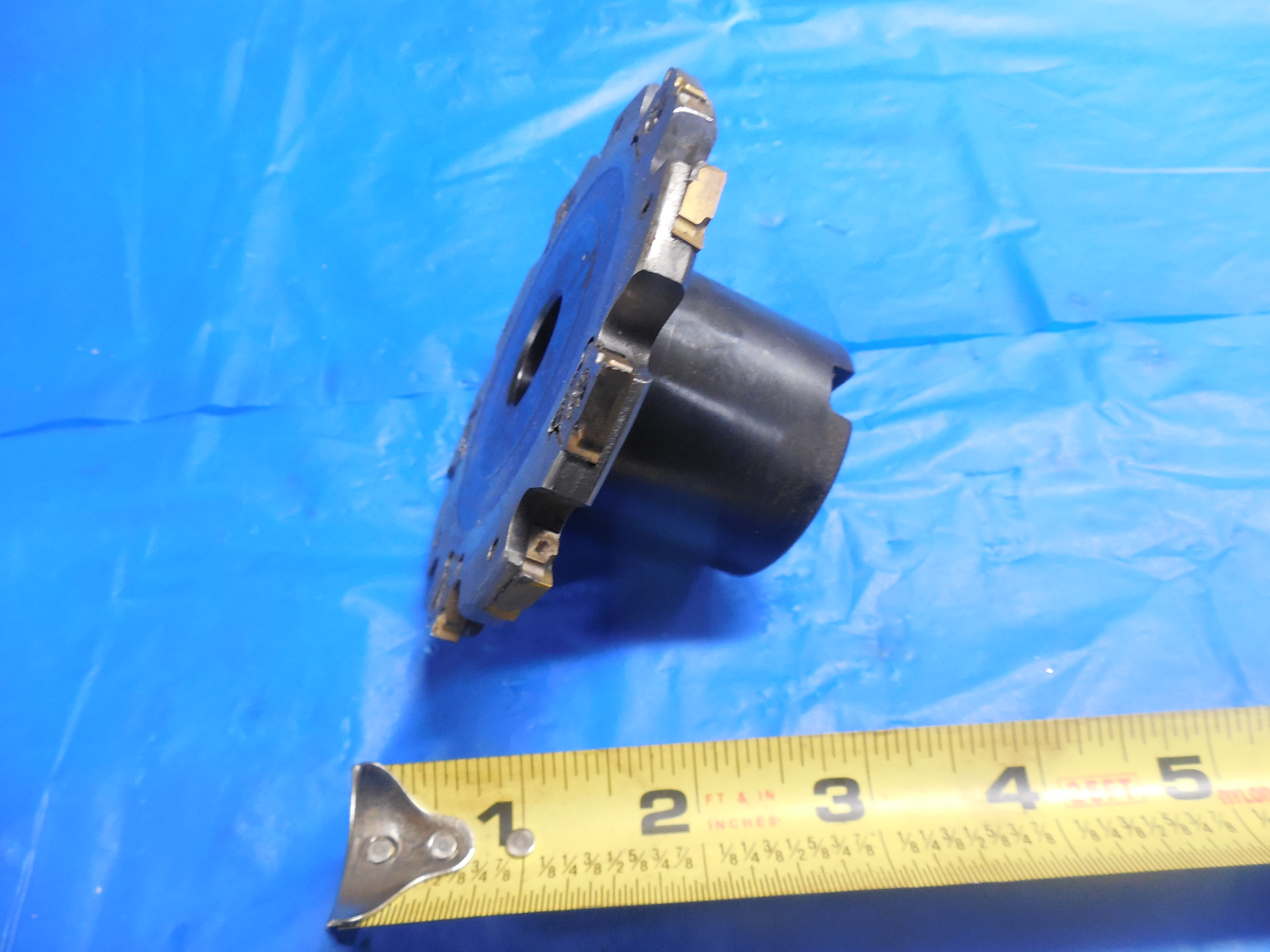 """Seco 335 18 1200 0911 Indexable Slotting Cutter 12/"""" Diameter 1//2/"""" Thick USED"""