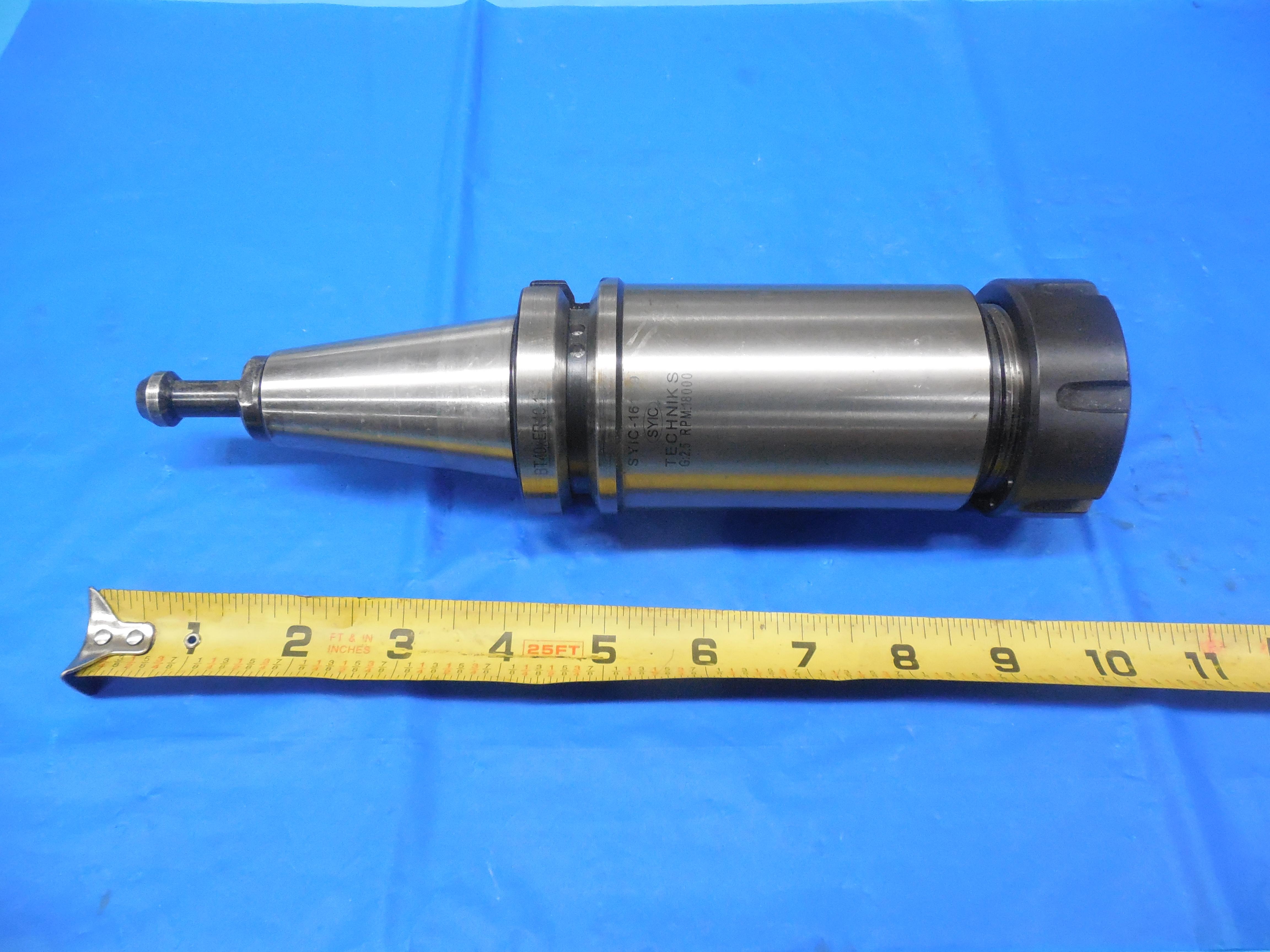 TG100 Tool Holder BT40 Extra Long
