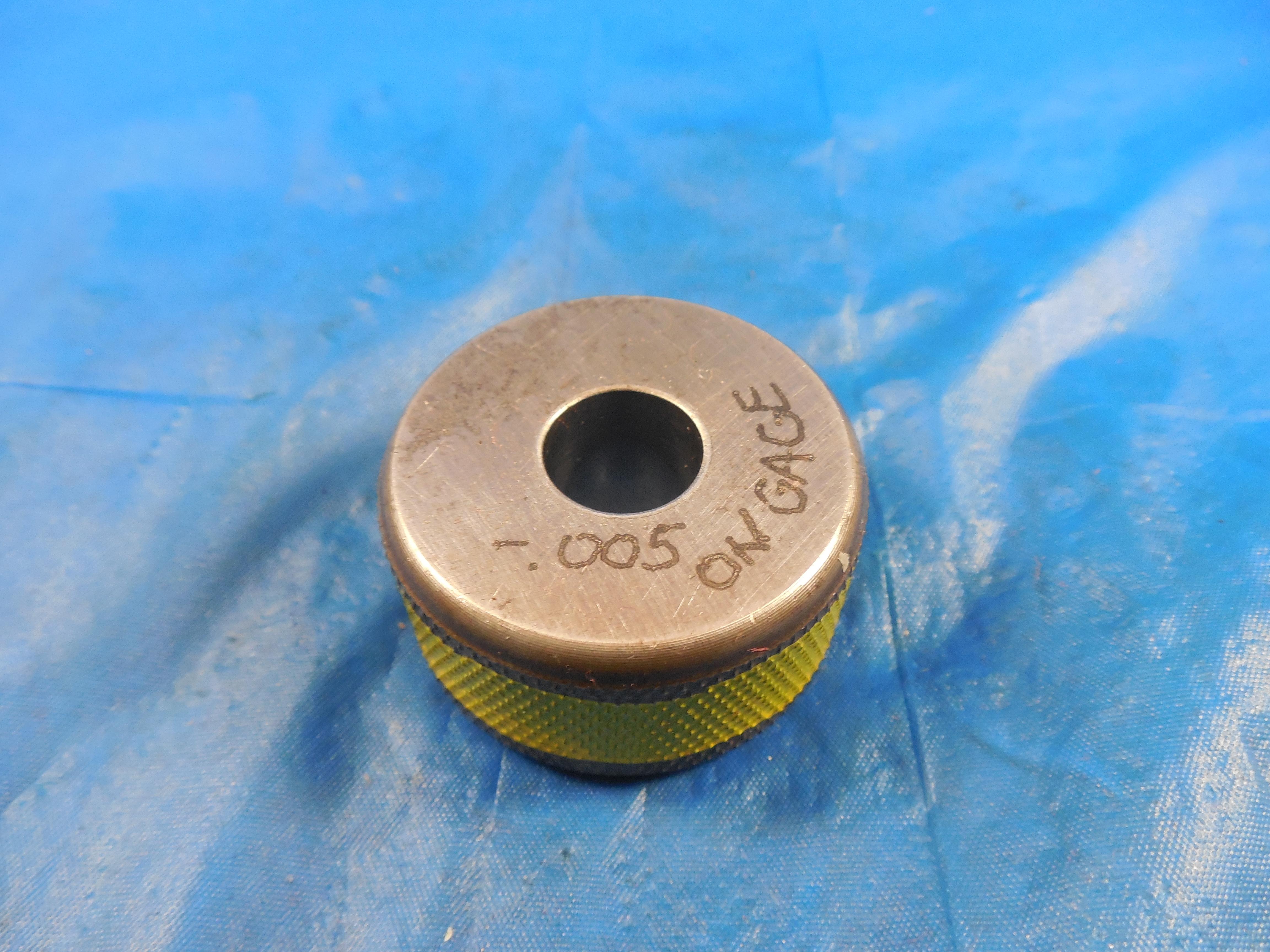 RINGMASTER 1.0000 Master Plain BORE Ring GAGE ONSIZE 1.0 25.400 mm 1 1.00 1.000