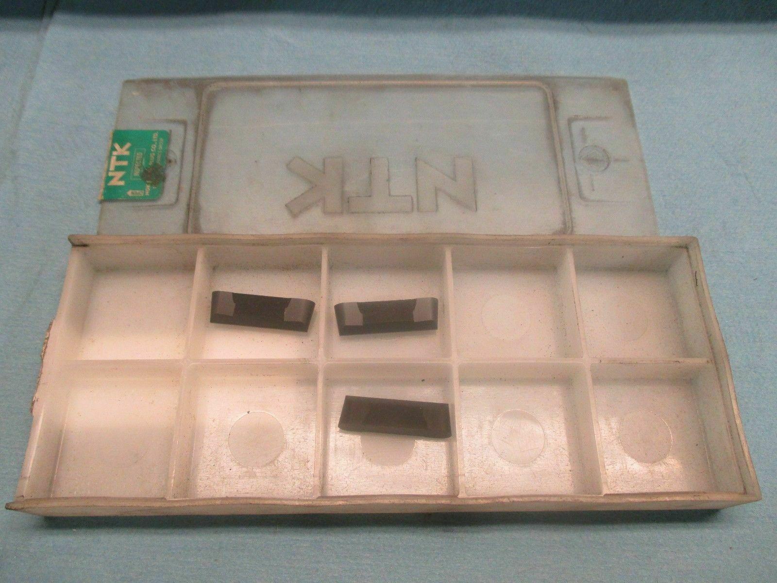 5 new NTK Tools VDB 188A 015 HC2 20A-H2 SM Dogbone Cermet Ceramic Inserts 00115