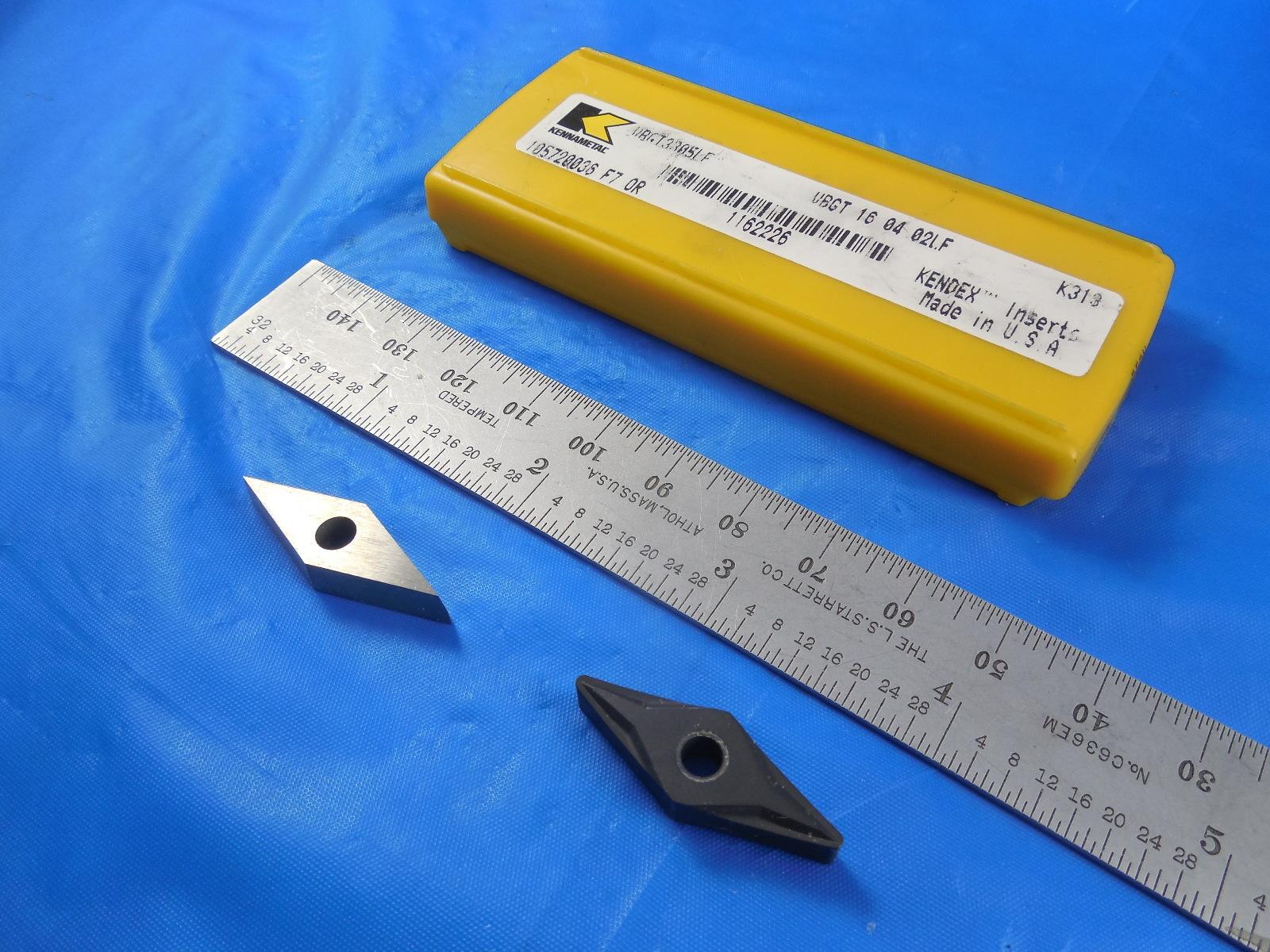 Kennametal VCGR 16 04 02  VPGR 3305 1163325 Carbide Profiling Insert D2