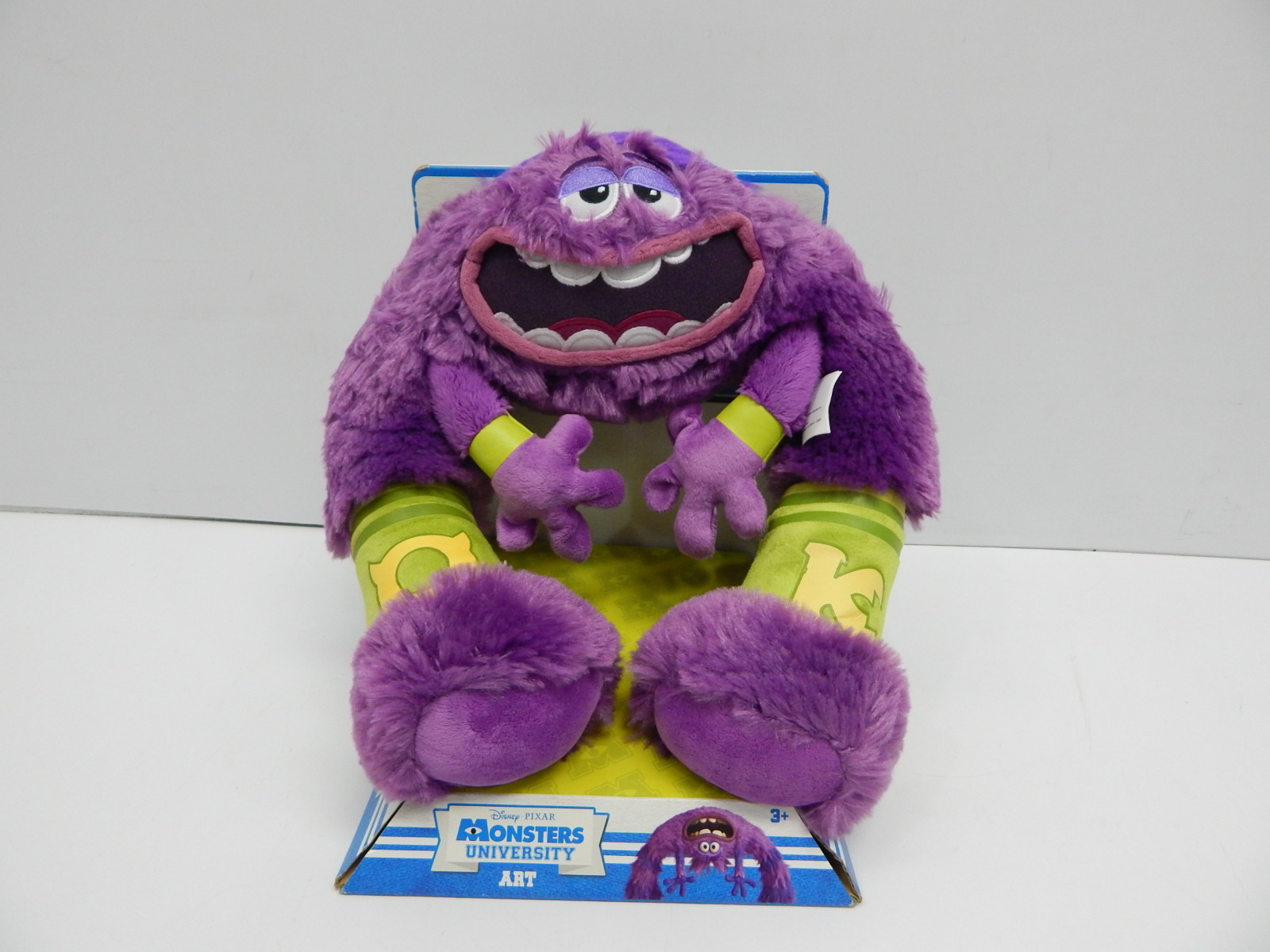 Disney 23550 Monsters Inc University Art 13 Purple Plush Toy Medium 2ndchancesales