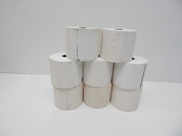 """Go2 Partners PAC10657-TL 4"""" Continuous Thermal Rolls, 8ct"""