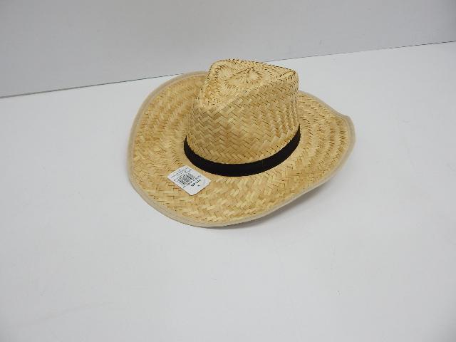 0530de14886f1 U.S. Toy H348 Rolled Up Straw Cowboy Hat 49392243046