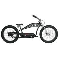 Micargi CYCLONE-MBK 48V 500W Pedal Assist Electric E-Bike Bicycle, Matte Black