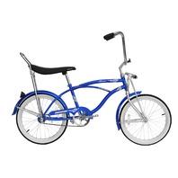 "Micargi HERO-M-BL Men's 20"" Beach Cruiser Banana Seat Bicycle Bike, Blue"